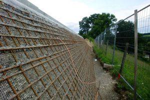 Mur en terre armée FlexiMur, Aubonne, Merck Serono