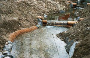 Protection des berges, ruisseau, renaturation