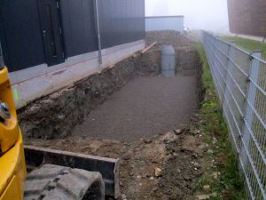 Stockage et infiltration des eaux de pluie, Enregis