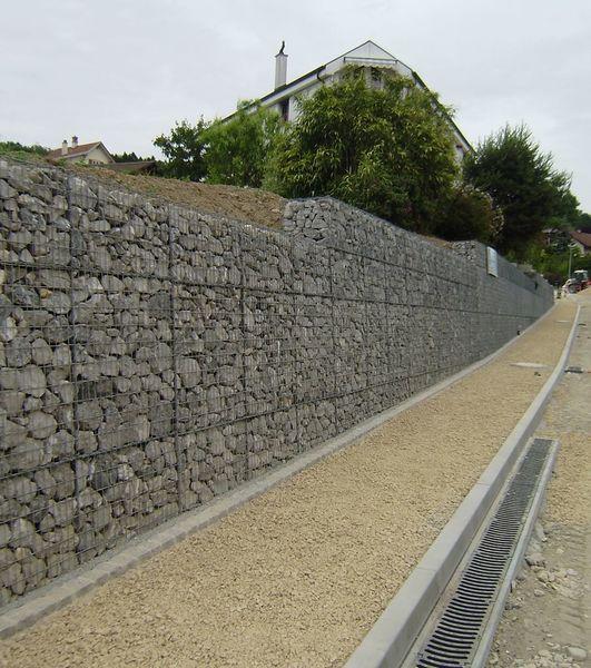 mur de soutènement, gabion, FlexiGab