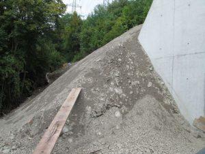 Surface à protéger de l'érosion de surface