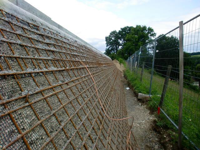 Mur en terre armée FlexiMur