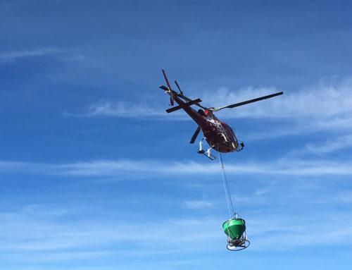 Helikopteransaat in La Tzoumaz/Riddes