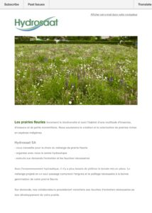 Prairie fleurie - biodiversité