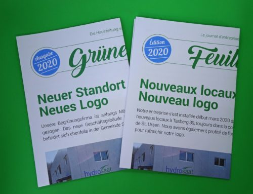 "Hauszeitung ""Grünes Blatt"" Ausgabe 2020"