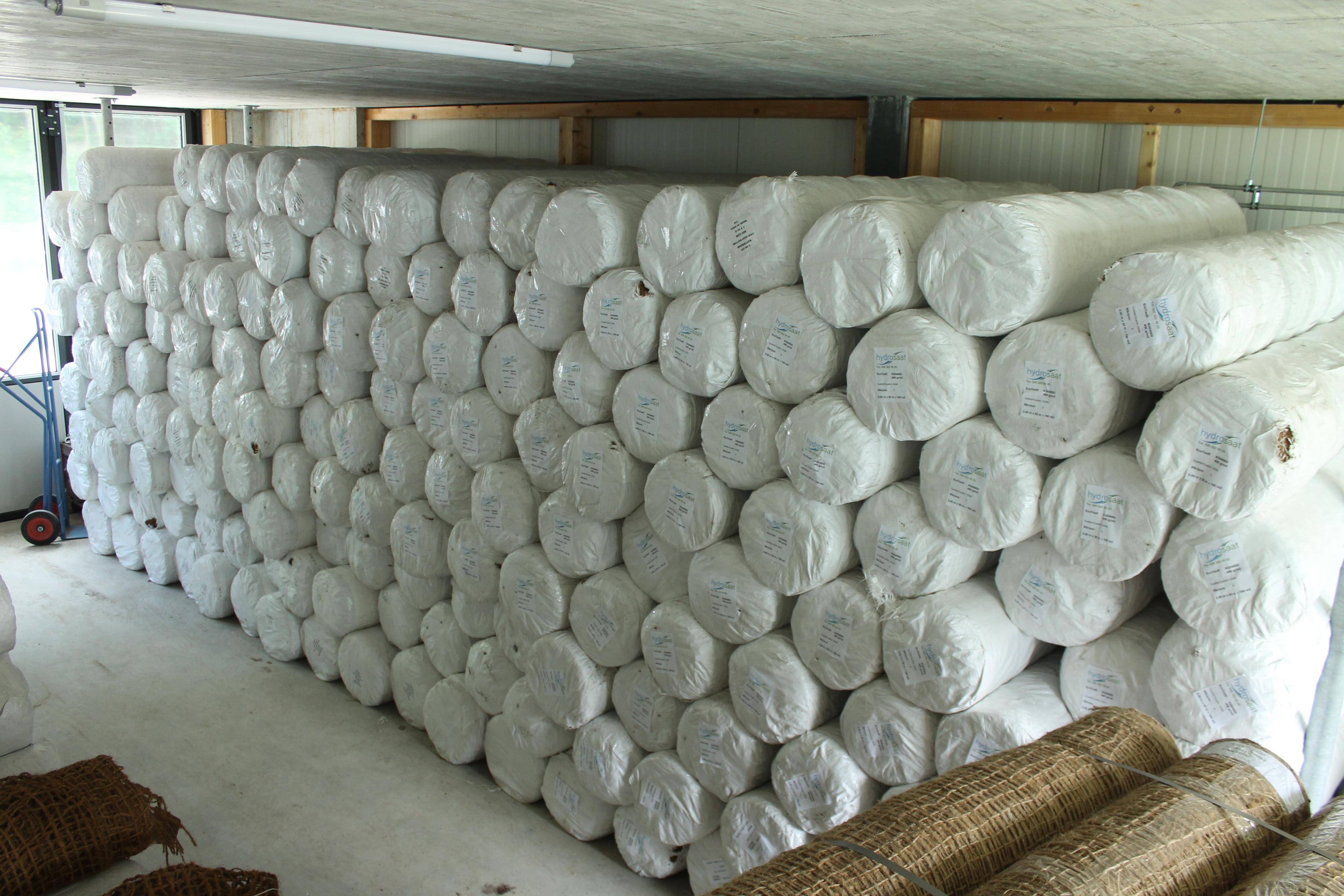 Géotextiles EcoTex nattes en fibres de coco